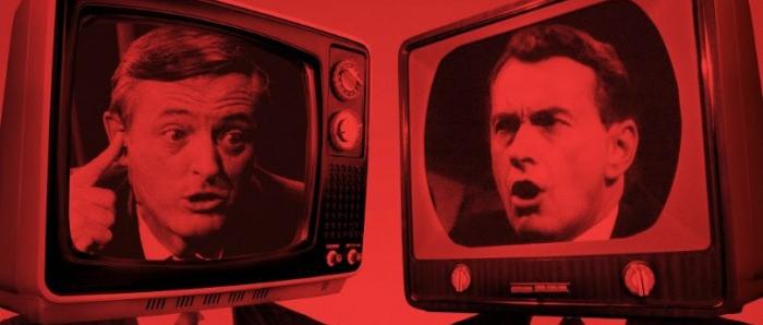 Bill Buckley e Gore Vidal: intelectuais duelando na TV