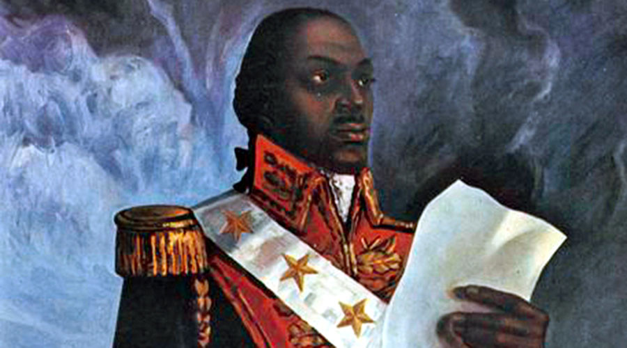 Toussaint L'Ouverture, líder da revolução haitiana