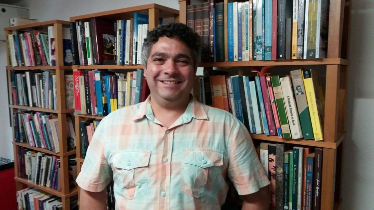 Haroldo Ceravolo Sereza, editor da Alameda. Foto: Joana Monteleone