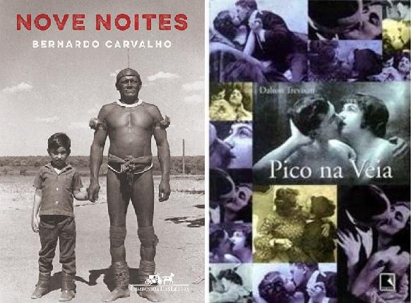 Capas de 'Nove Noites' e 'Pico na Veia'