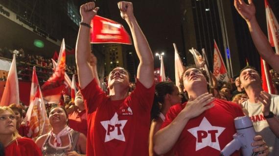 Vitória de Dilma na Paulista