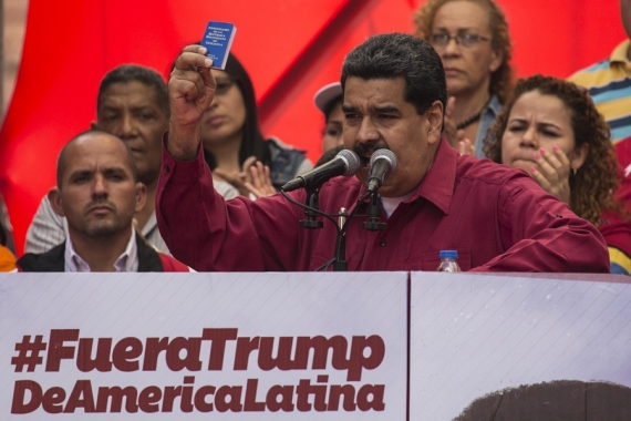 """""""Marcha antiimperialista"""" en Caracas"""