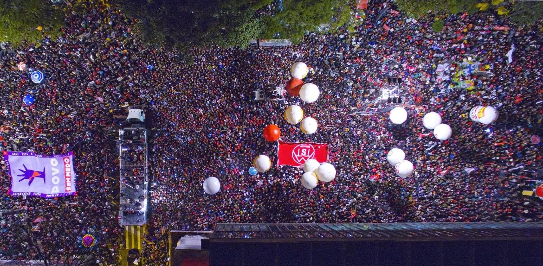 Ato contra o golpe, em 2016. Foto: Ricardo Stuckert