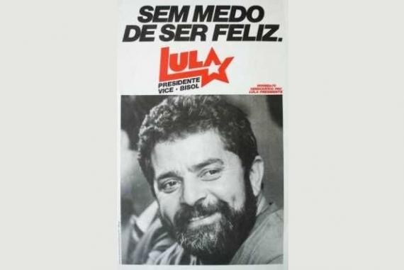 Campanha presidencial do Lula em 1989.
