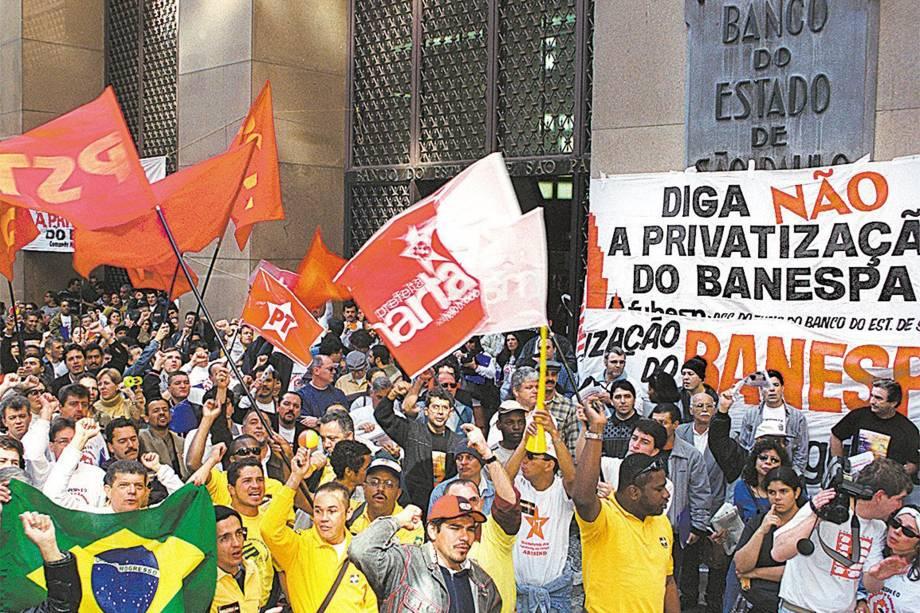 Diga não a privatização do Banespa