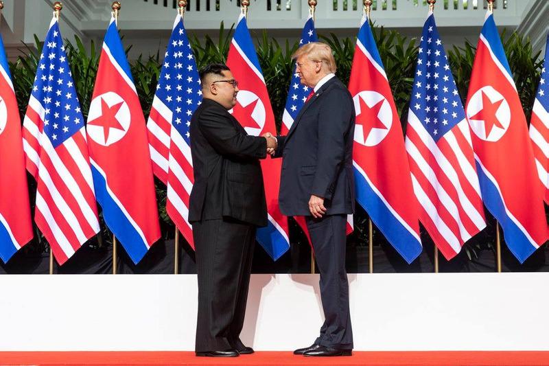 Trump e Kim